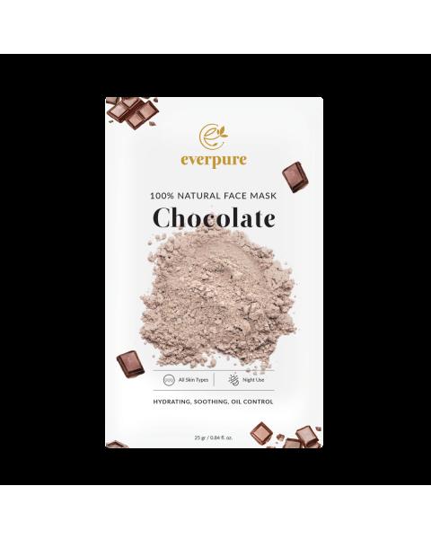 EVERPURE 100% Natural Face Mask - Chocolate