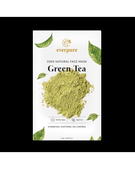 EVERPURE 100% Natural Face Mask - Green Tea