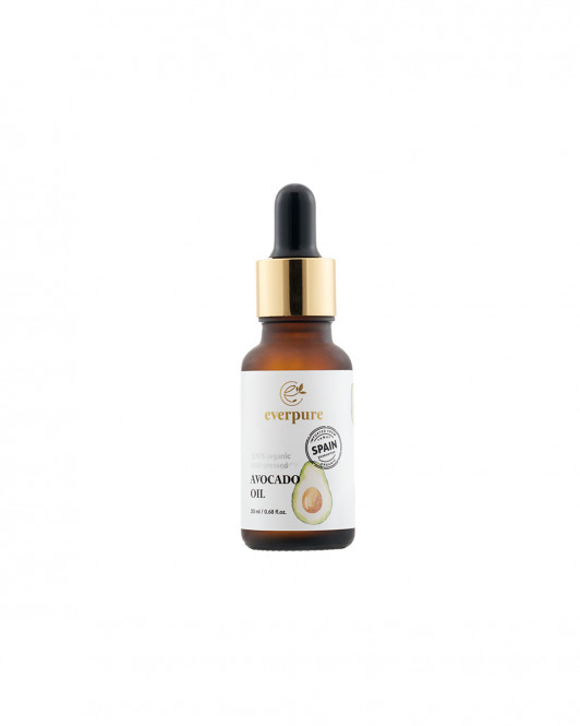 EVERPURE Avocado Oil - 100% Organic Cold-Pressed