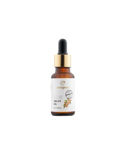 EVERPURE Argan Oil - 100% Organic Cold-Pressed