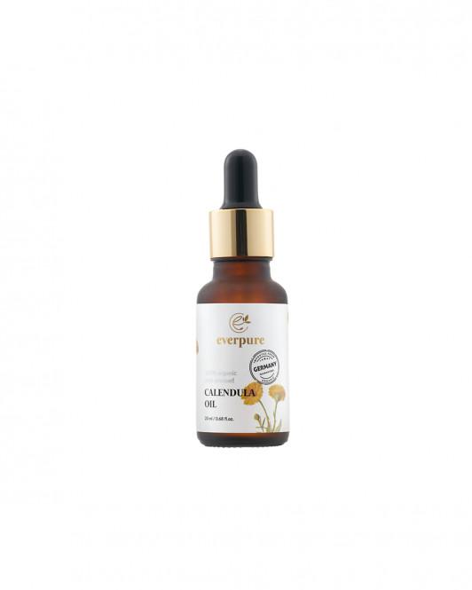 EVERPURE Calendula Oil - 100% Organic Cold-Pressed